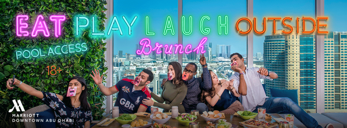 EAT. PLAY. LAUGH. Brunch @ Marriott
