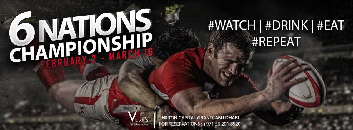 Six Nations Championship 2019 @ Victor's