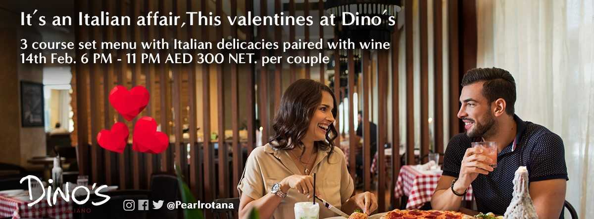 An Italian Affair @ Dino's Bistro Italiano for Valentines