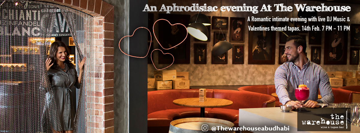 The Aphrodisiac, A Memorable Valentines Evening @ The Warehouse