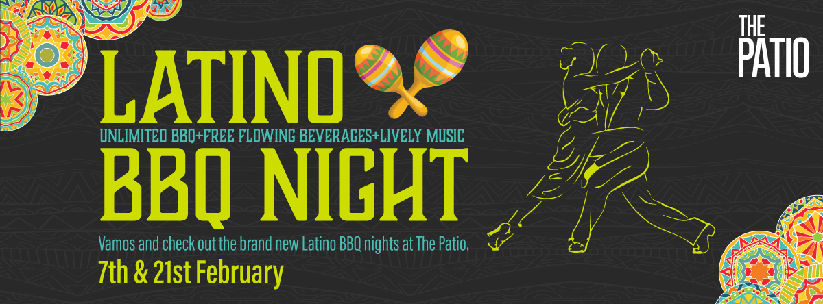 LATINO BBQ NIGHT @ The Patio