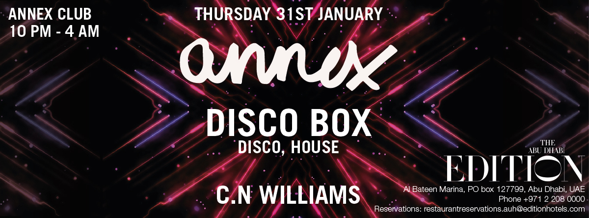 Disco Box @ Annex