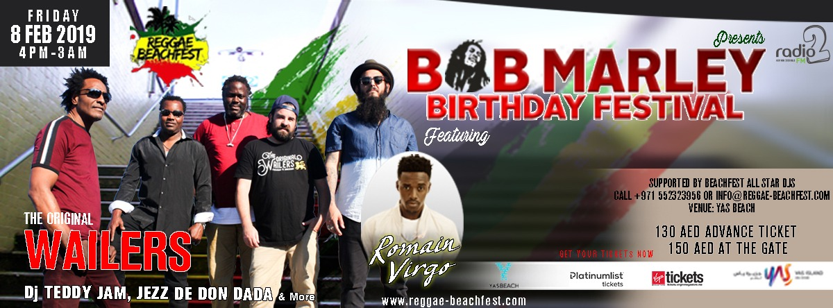 Bob Marley Birthday Festival feat. The Original Wailers, Romain Virgo & Friends