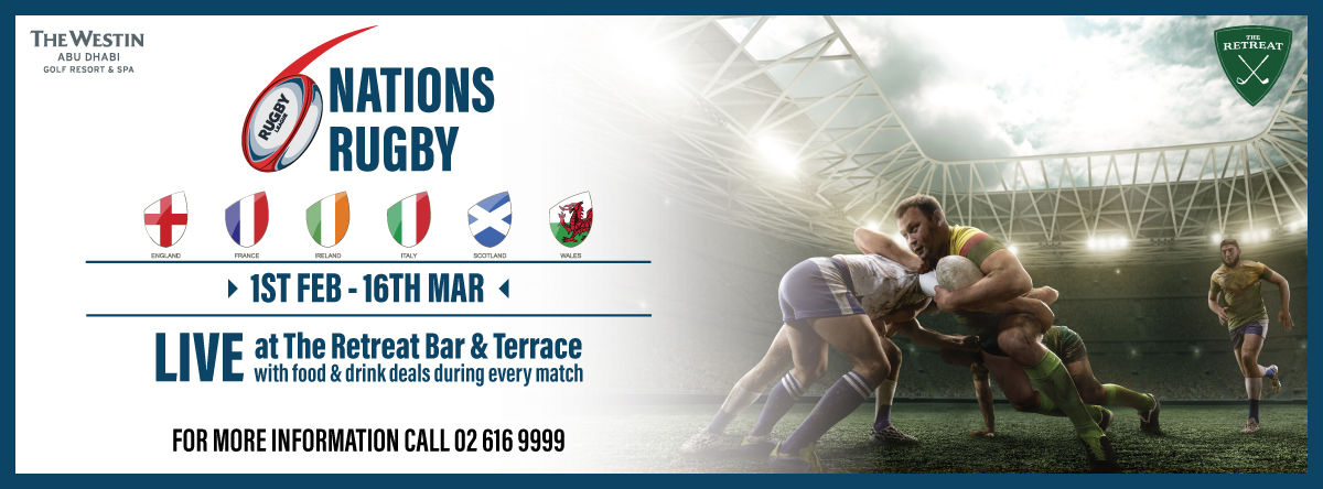 Six Nations Rugby @ The Westin