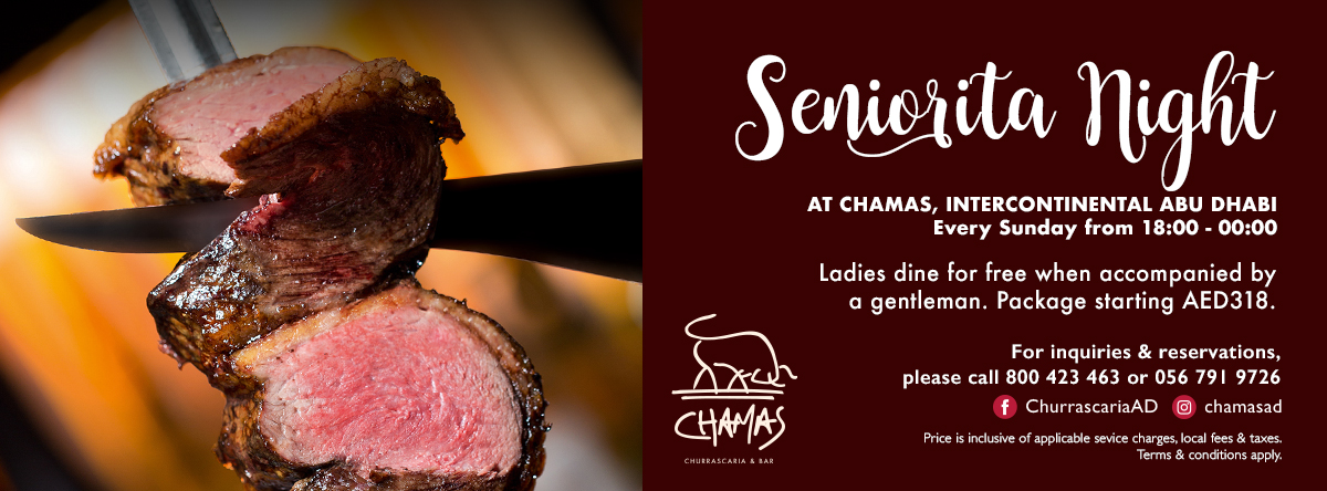 SENIORITA NIGHT @ CHAMAS
