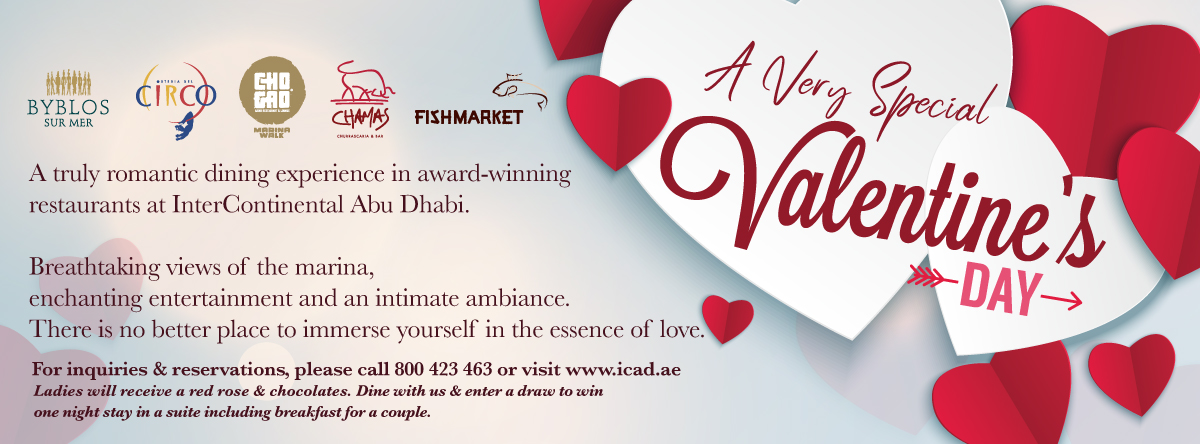 A Very Special Valentine's Day @ Intercontinental