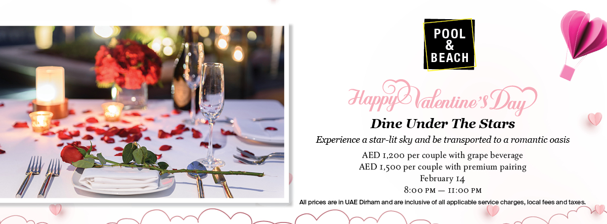 Dine Under The Stars @ St. Regis Saadiyat