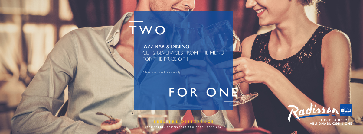 2 for 1 @ Jazz Bar