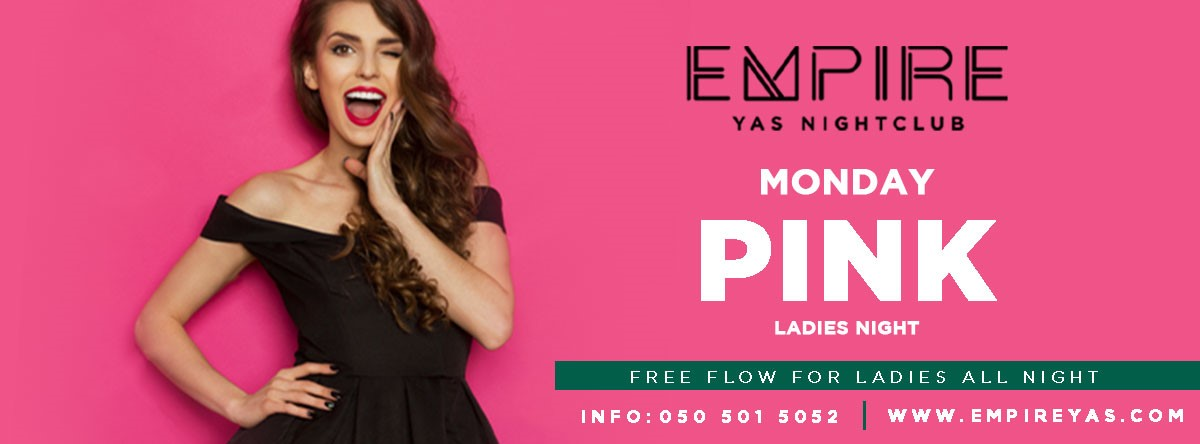 PINK Ladies Night @ Empire