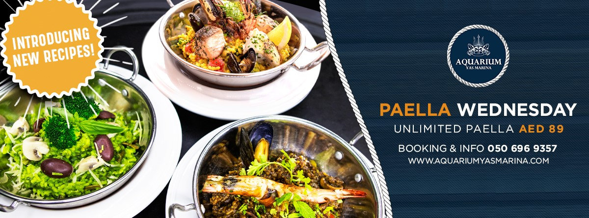 Paella Wednesday Ladies Night @ Aquarium
