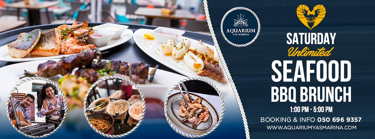 Seafood BBQ Brunch @ Aquarium