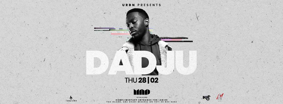 Dadju @ Mad On Yas Island