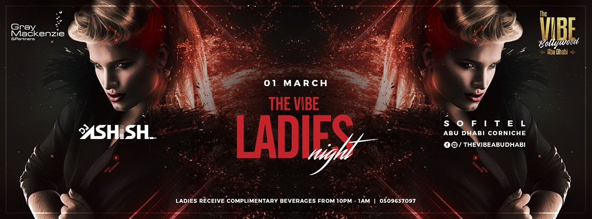 The VIBE Ladies Night @ Sofitel Corniche