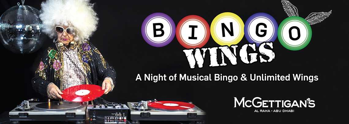 BINGO WINGS @ McGettigan's AUH