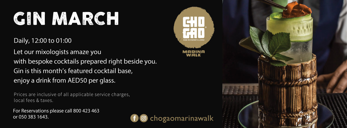 Gin March @ Cho Gao Marina Walk