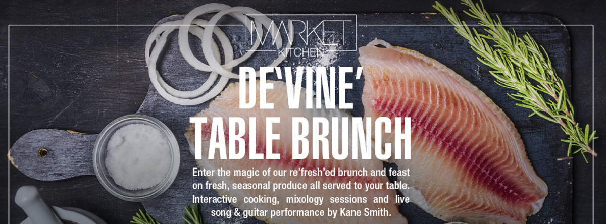 DE'VINE Friday BRUNCH @ Le Royal Meridien