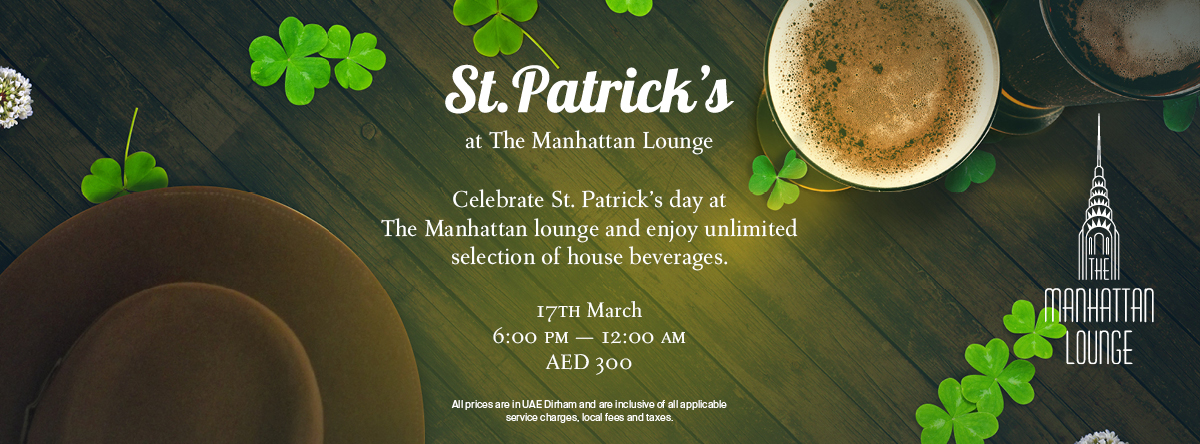 St. Patrick's Day @ The Manhattan Lounge