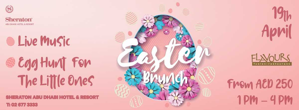 EASTER BRUNCH @ Flavours