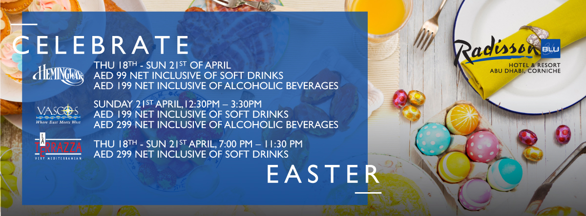 Easter @ Radisson Blu