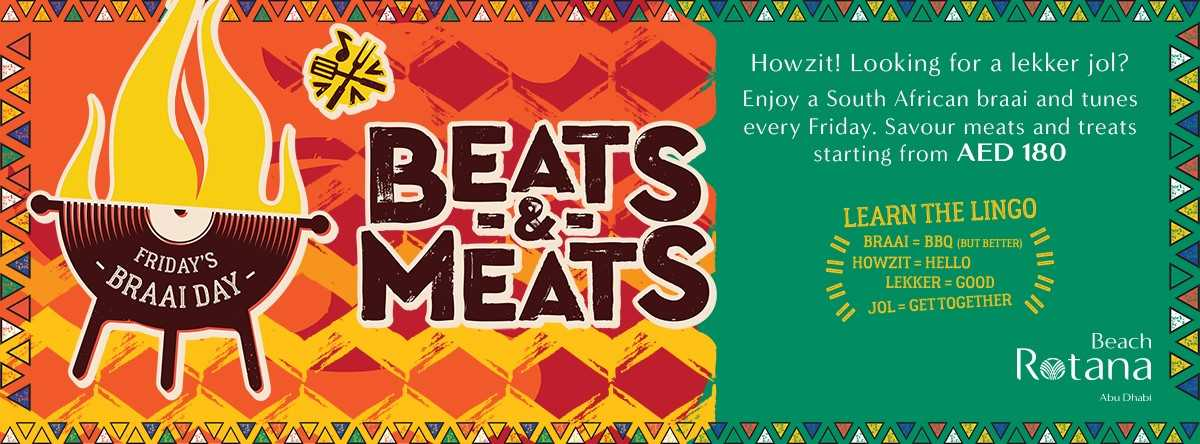 Beats & Meats @ Beach Garden
