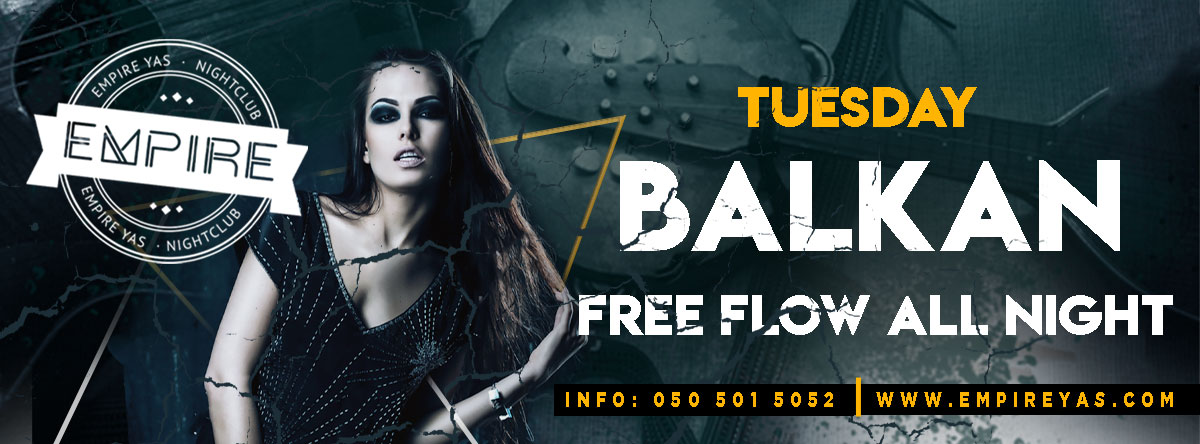 BALKAN NIGHT @ Empire