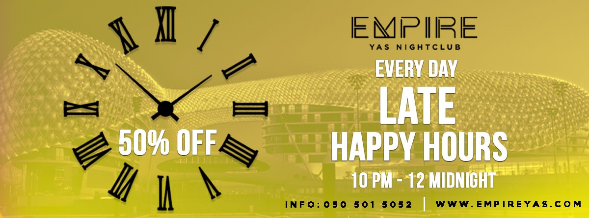 Happy Hour @ EMPIRE