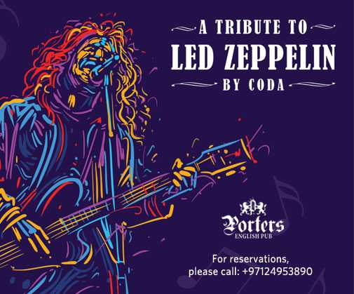 Led Zeppelin Tribute band