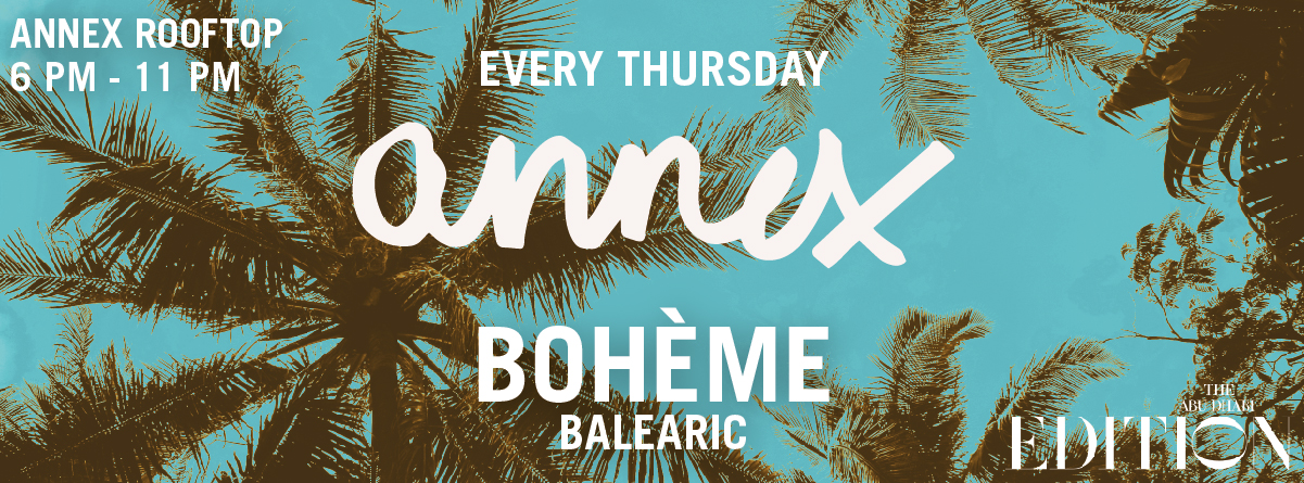 Boheme at ANNEX Rooftop