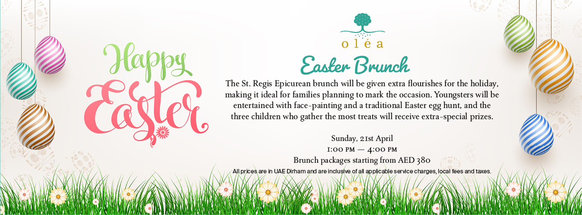 Easter Brunch @ Oléa