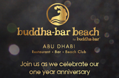 Buddha-Bar Beach Abu Dhabi turns 1 this April