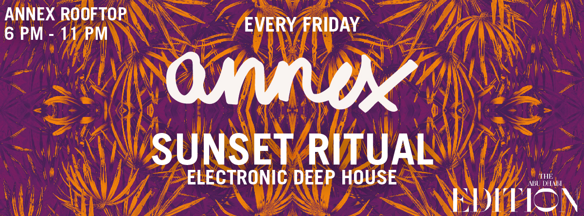 Sunset Ritual @ Annex Rooftop