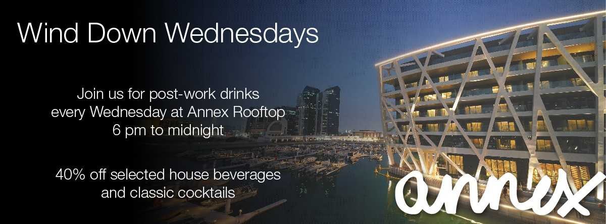 Wind down Wednesdays @ Annex