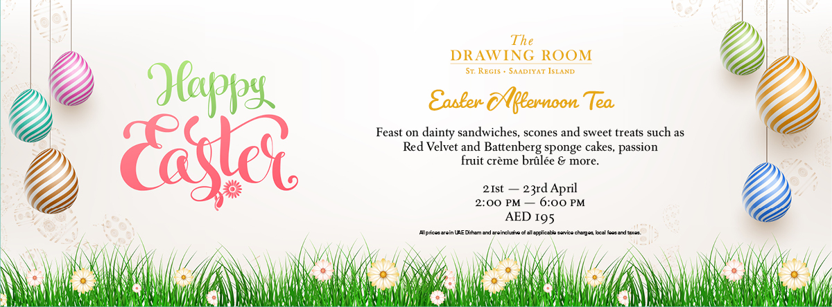 Easter Afternoon Tea @ The Drawing Room