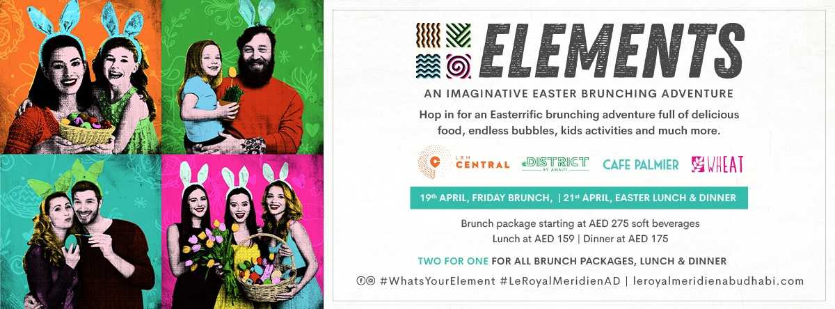 Pre-Easter Elements Brunch @ Le Royal Meridien