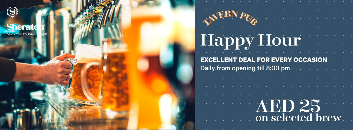 Tavern Happy Hour