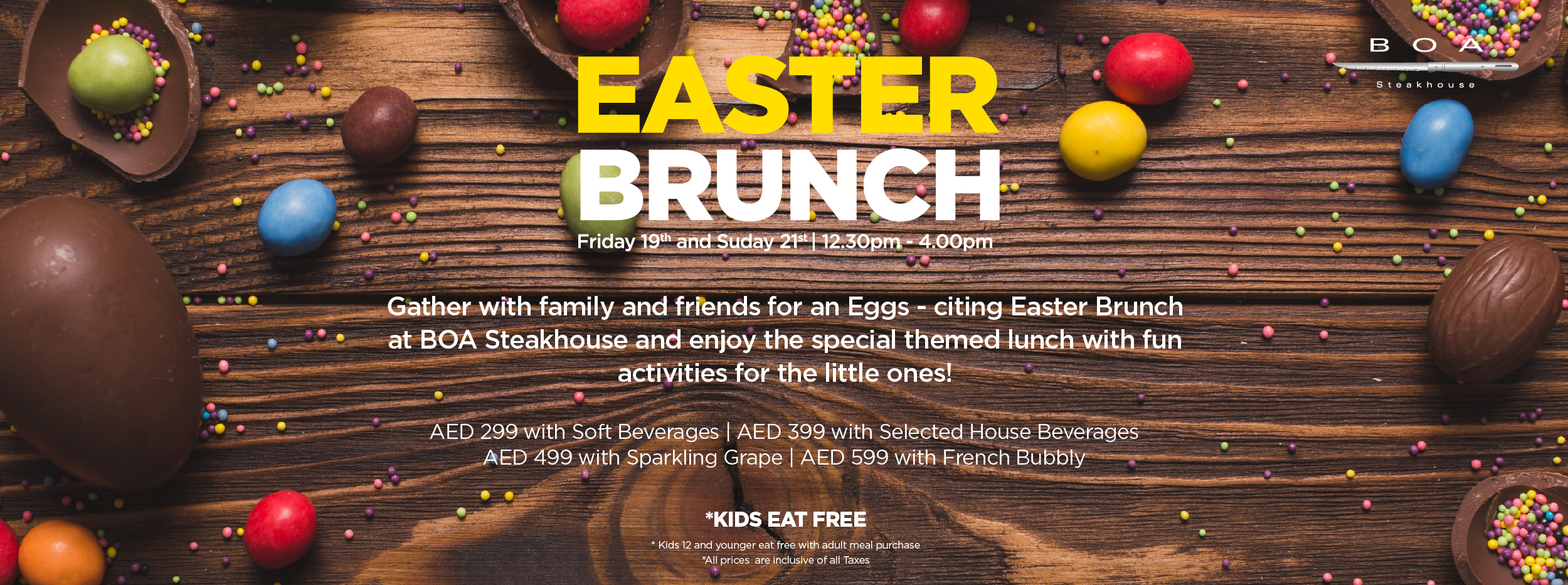 Easter Brunch @ BOA Steakhouse