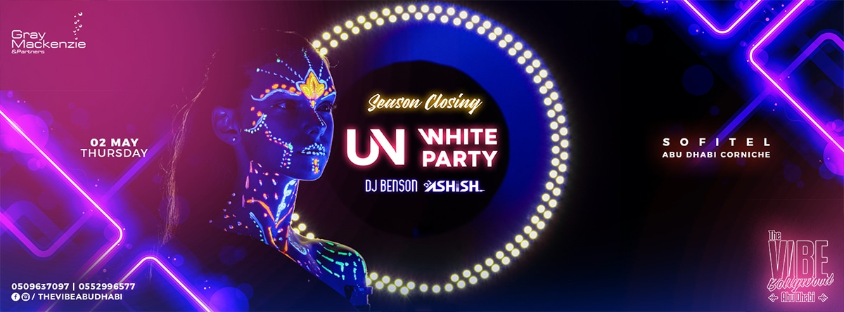 UV White Party 2nd Edition @ Sofitel