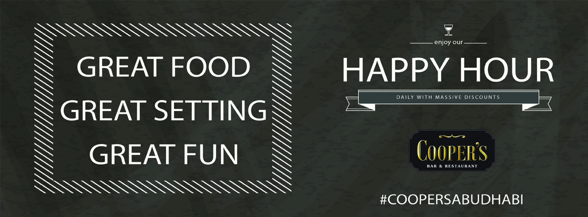 Happy Hours @ Cooper's