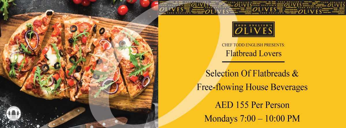 Flatbread Lovers @ Olives