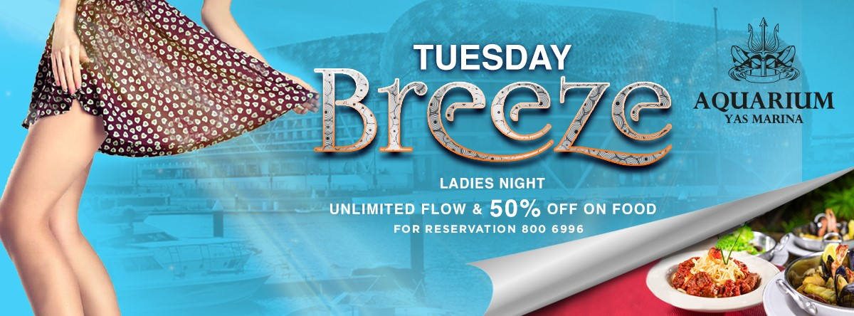 Breeze Ladies Night @ Aquarium