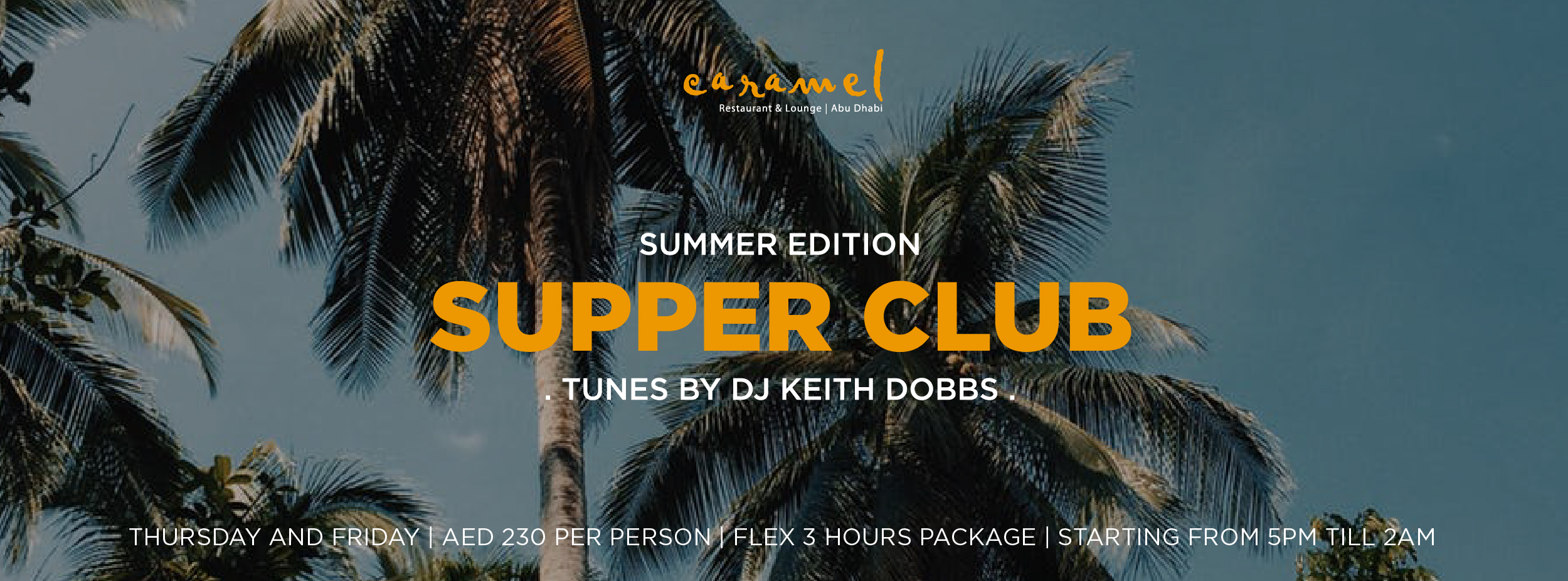 CARAMEL Supper Club