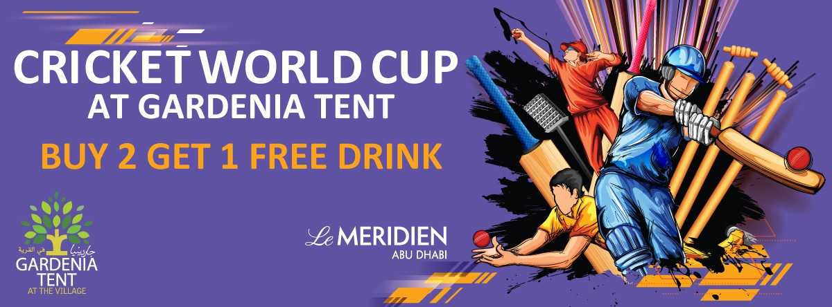 Cricket World Cup @ Gardenia Tent