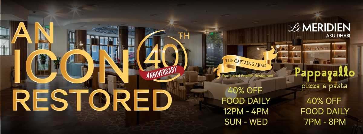 Le Meridien's 40th Anniversary Celebrations