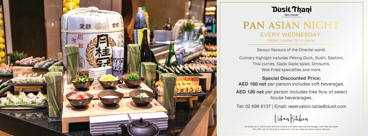 Pan Asian Night @ Dusit Thani