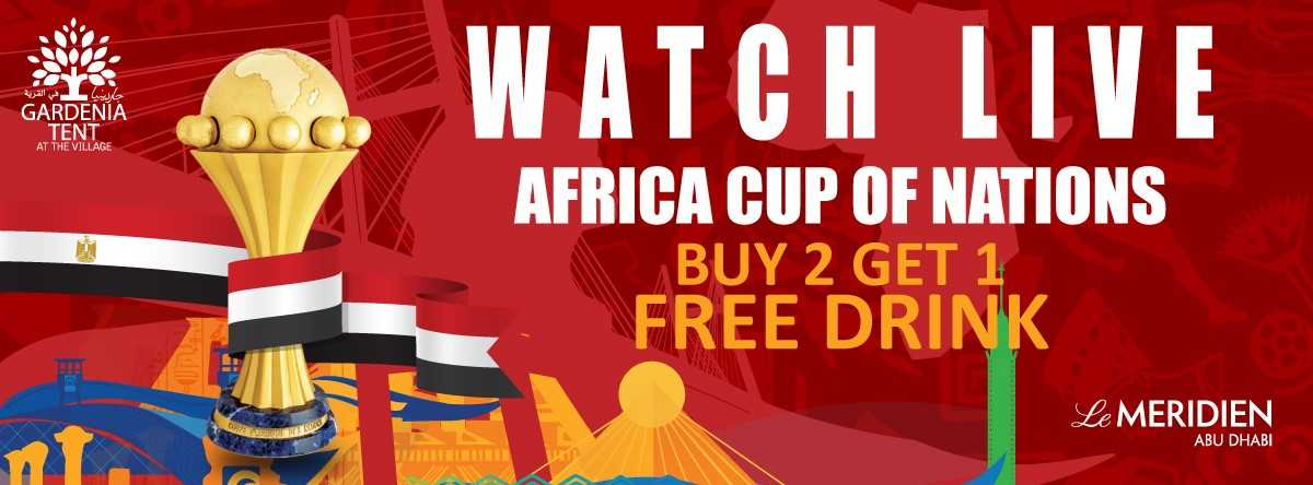 Africa Cup of Nations @ Gardenia Tent