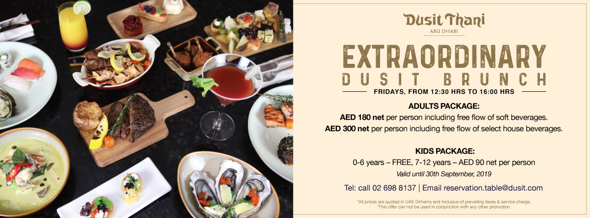 Extraordinary Dusit Brunch @ Dusit Thani