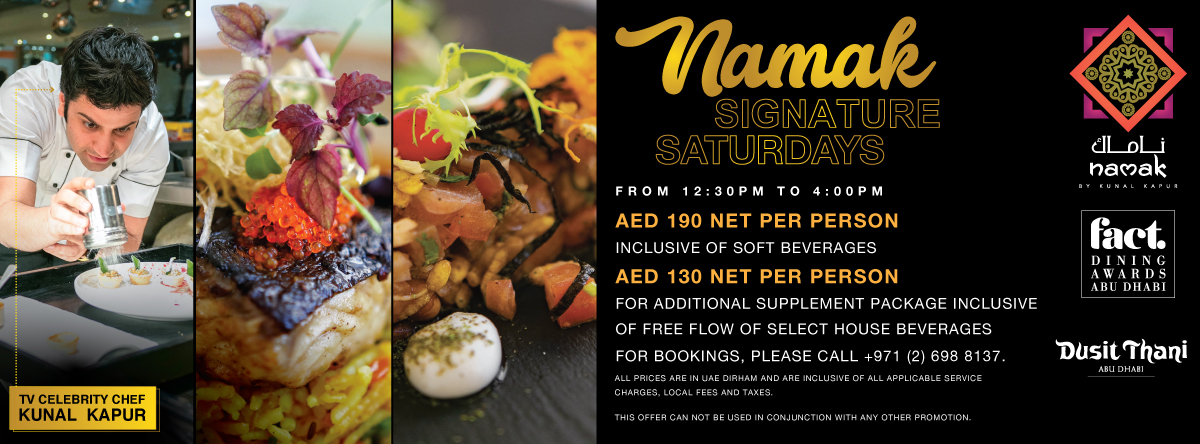 Namak Signature Saturday