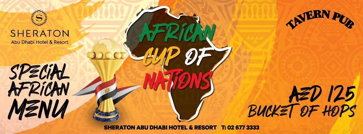 African Cup Of Nations @ Tavern Pub