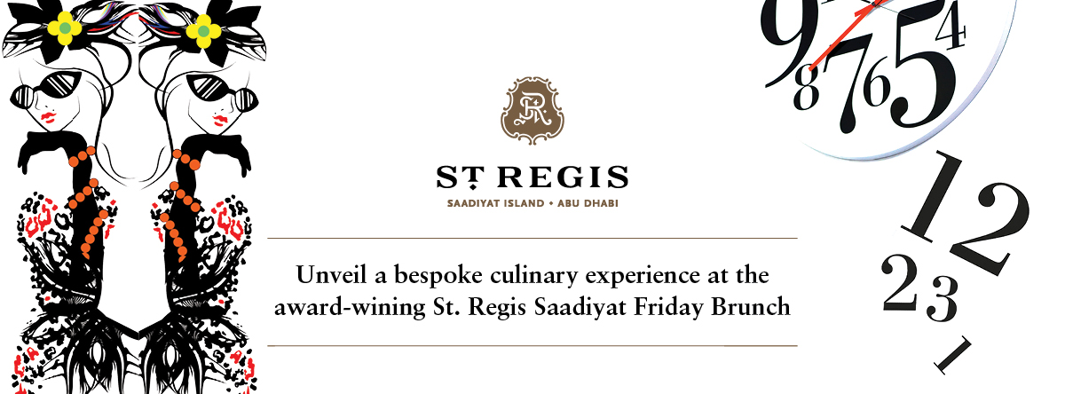 The St. Regis Saadiyat Friday Brunch