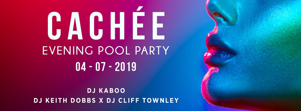 Cachée Pool Party @ Saadiyat Beach Club